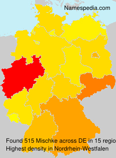 Surname Mischke in Germany