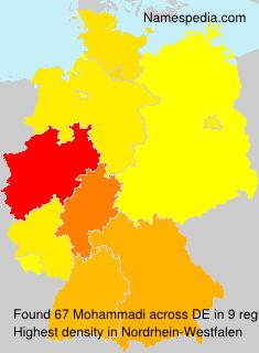 Surname Mohammadi in Germany