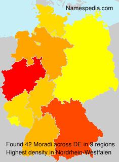 Surname Moradi in Germany