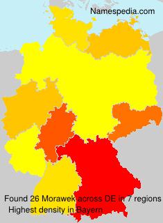 Surname Morawek in Germany
