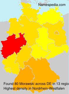 Surname Morawski in Germany