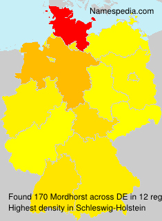 Familiennamen Mordhorst - Germany