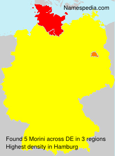 Familiennamen Morini - Germany