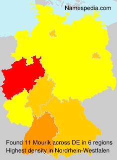 Surname Mourik in Germany