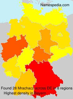 Surname Mrachacz in Germany