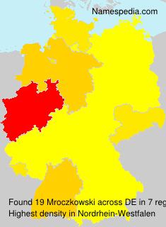 Surname Mroczkowski in Germany