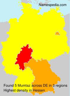 Familiennamen Mumtaz - Germany