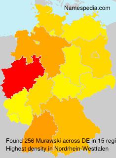 Surname Murawski in Germany