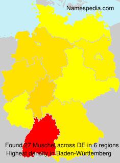 Familiennamen Muschel - Germany