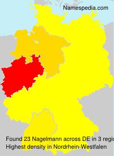 Familiennamen Nagelmann - Germany