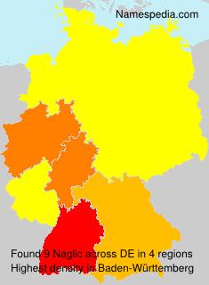 Surname Naglic in Germany