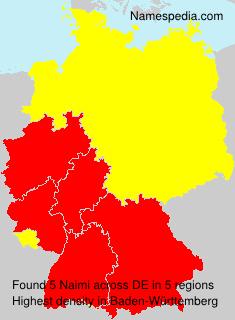 Surname Naimi in Germany