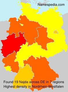 Surname Najda in Germany