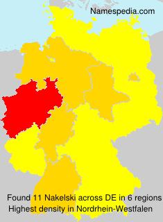Surname Nakelski in Germany