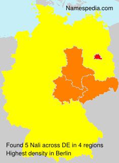 Surname Nali in Germany