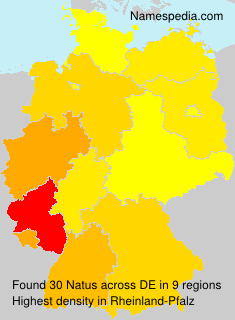 Surname Natus in Germany