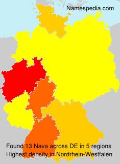 Surname Nava in Germany