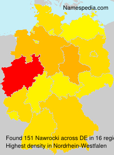 Surname Nawrocki in Germany