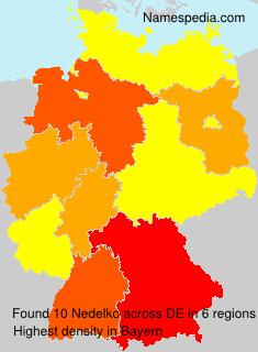 Familiennamen Nedelko - Germany