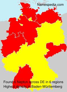 Surname Neptun in Germany