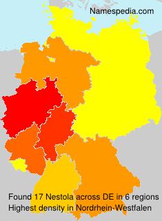 Surname Nestola in Germany