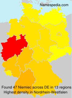 Familiennamen Niemiec - Germany