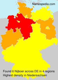 Surname Nijboer in Germany