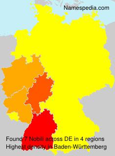 Surname Nobili in Germany