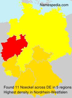 Familiennamen Noeckel - Germany
