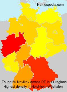 Surname Novikov in Germany