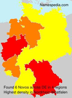 Surname Novoa in Germany