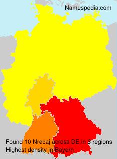 Surname Nrecaj in Germany