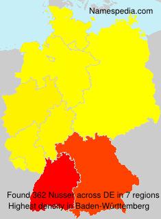 Surname Nusser in Germany