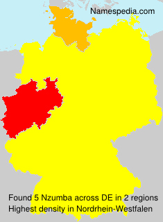 Familiennamen Nzumba - Germany