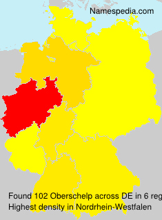 Familiennamen Oberschelp - Germany