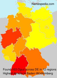 Surname Oguz in Germany