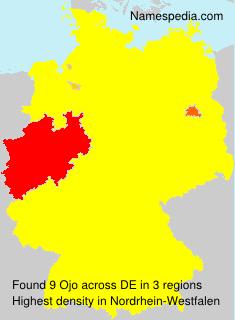 Familiennamen Ojo - Germany