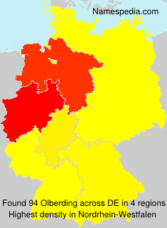 Surname Olberding in Germany
