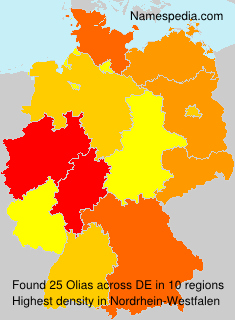 Surname Olias in Germany