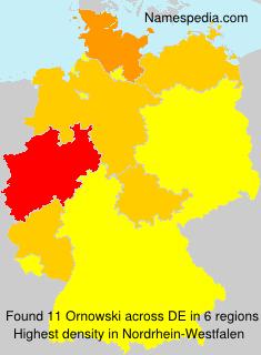 Surname Ornowski in Germany