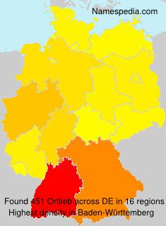 Familiennamen Ortlieb - Germany