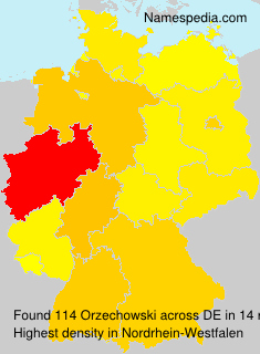 Surname Orzechowski in Germany