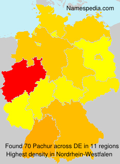 Surname Pachur in Germany