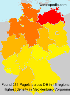 Familiennamen Pagels - Germany