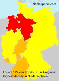 Surname Palella in Germany