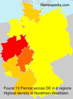 Familiennamen Parmar - Germany