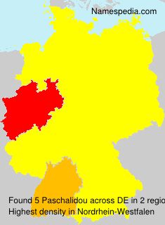 Surname Paschalidou in Germany