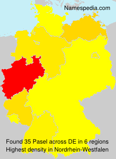 Surname Pasel in Germany