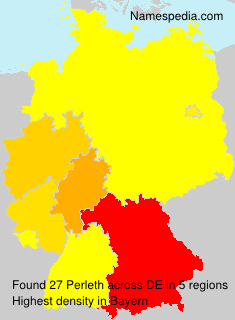 Familiennamen Perleth - Germany