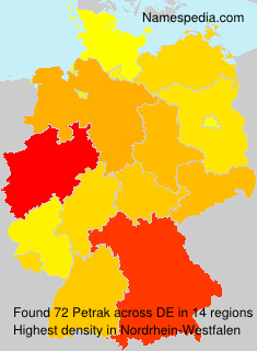 Surname Petrak in Germany